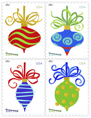 Holiday Baubles Stamps