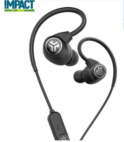Clip-on headphones