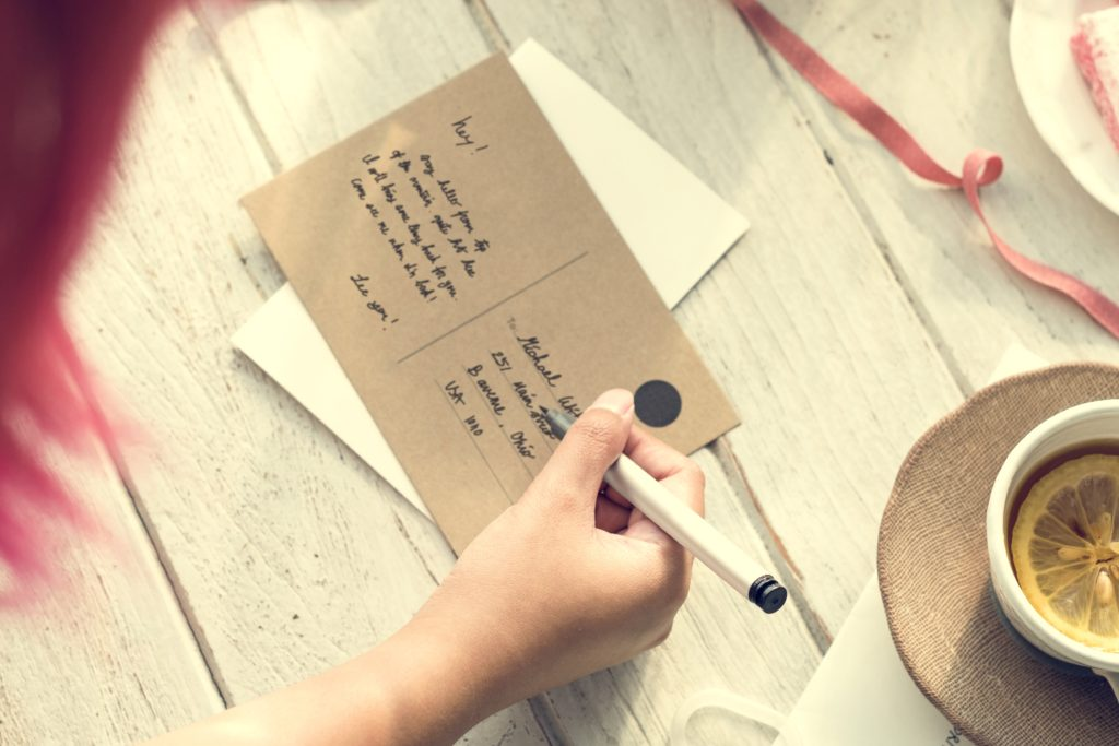 Letter Mail Ideas Stylish Trends Information Concept