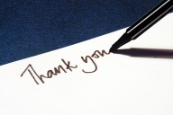 A handwritten note puts a personal touch on your demonstration of appreciation.