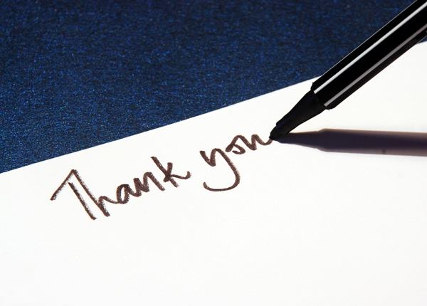 a guide to a professional thank you note cardsdirect blog