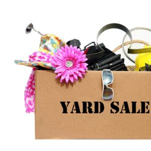 Be sure to raise awareness of your garage sale by sending out business invitations.