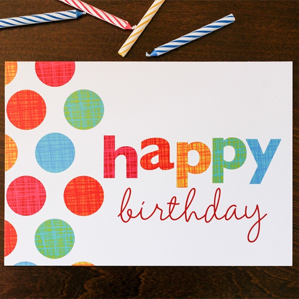 how to customize your corporate birthday greeting cards, Birthday card