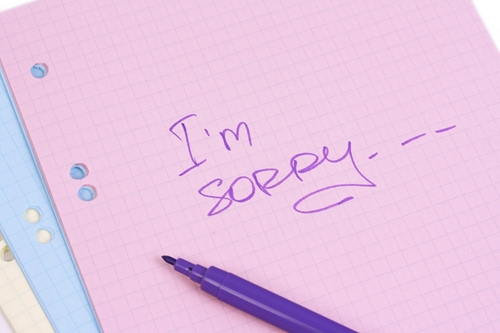 how to make an apology
