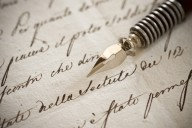 Keep your writing neat and even in your greeting cards.